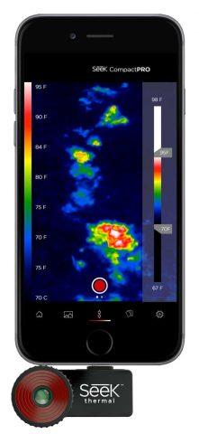 Seek Thermal Compact PRO FF iOS