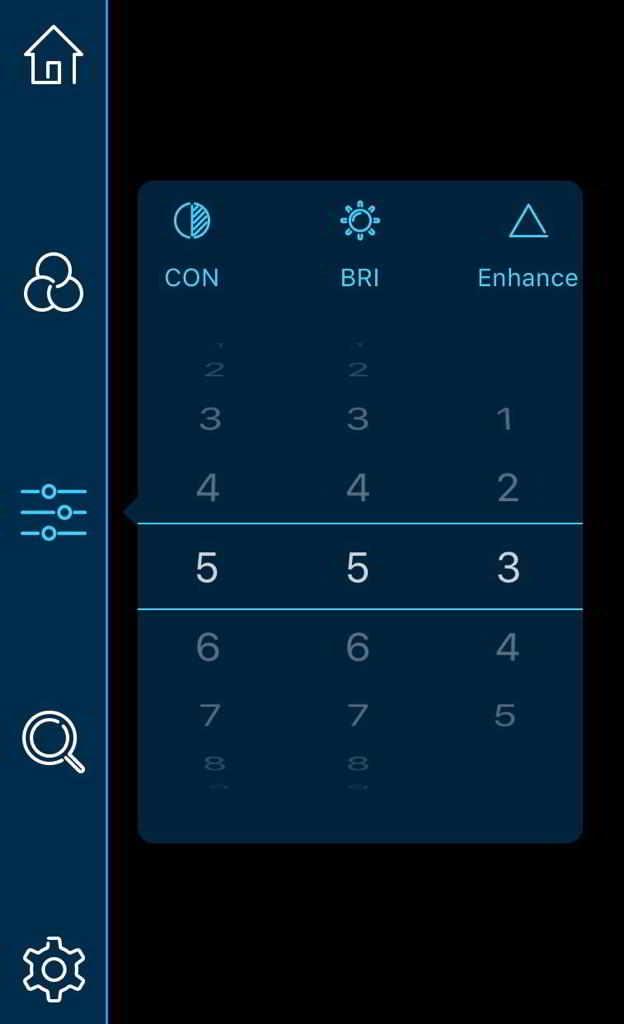JSA nightlux IR-415 VOx App-Einstellung