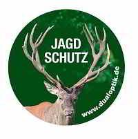 Aufkleber-Jagdschutz-Hubertushirsch-thumb