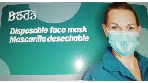 Mund-Nase-Schutz-OP-Maske