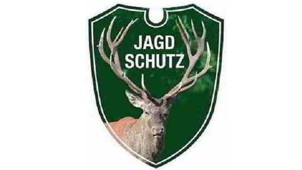 Autoschild-Jagdschutz