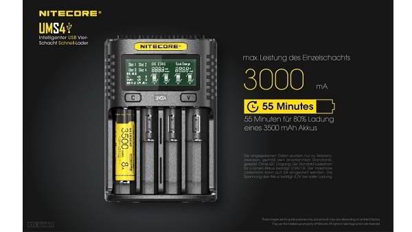 Nitecore-UMS4-USB-4