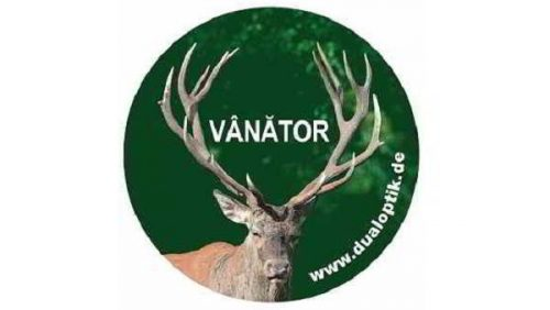 Sticker-vânător-cerb